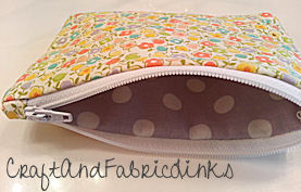 Free Coin Purse Sewing Pattern With Zipper