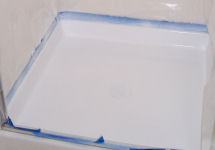 Refinish Unsightly Shower Pan
