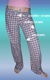graphic regarding Printable Pajama Pants Pattern identified as Absolutely free Pajama Trousers Habit: Establish A Custom made In shape Routine Centered
