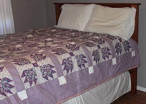 Bear Paw Free Quilt Pattern